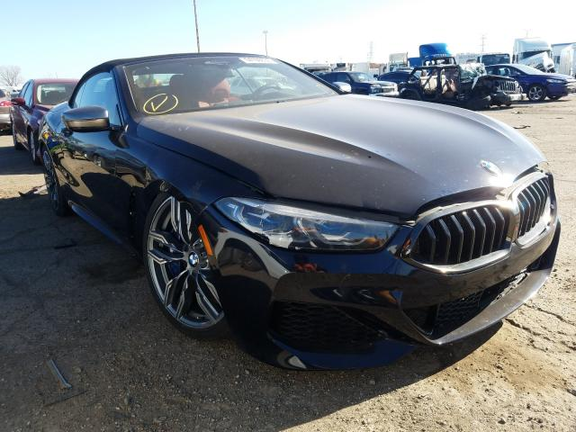 Salvage cars for sale from Copart Woodhaven, MI: 2019 BMW M850XI