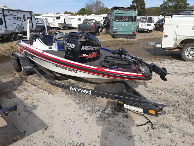 Salvage boats for sale at Conway, AR auction: 2017 Nitrous Z20