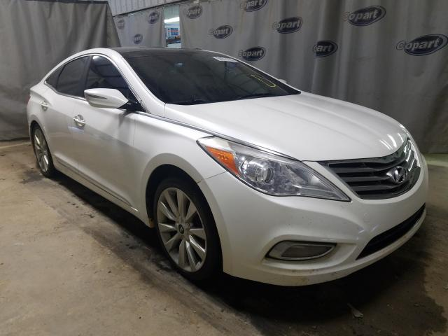 Salvage cars for sale from Copart Tifton, GA: 2014 Hyundai Azera GLS