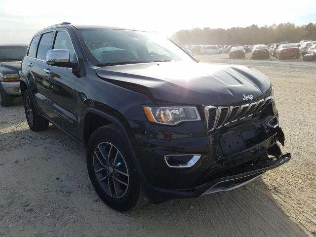 Salvage cars for sale from Copart Gainesville, GA: 2018 Jeep Grand Cherokee