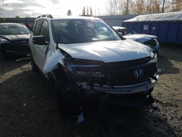 Salvage cars for sale from Copart Arlington, WA: 2019 Honda Passport T