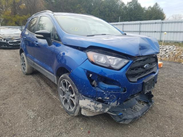Salvage cars for sale from Copart London, ON: 2019 Ford Ecosport S