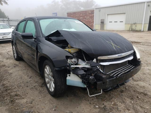 Salvage cars for sale from Copart Hampton, VA: 2011 Chrysler 200 Touring