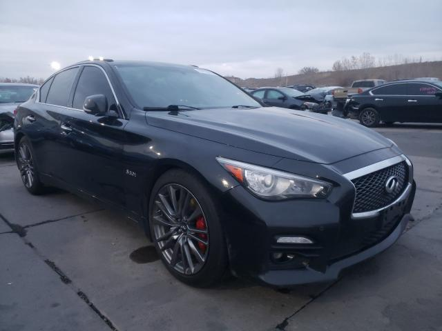 Vehiculos salvage en venta de Copart Littleton, CO: 2017 Infiniti Q50 RED SP