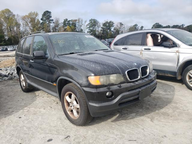 Salvage cars for sale from Copart Dunn, NC: 2003 BMW X5 3.0I