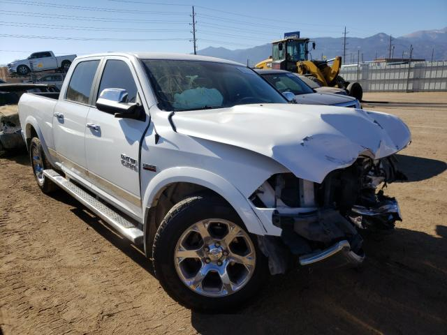 Salvage cars for sale at Colorado Springs, CO auction: 2017 Dodge 1500 Laram