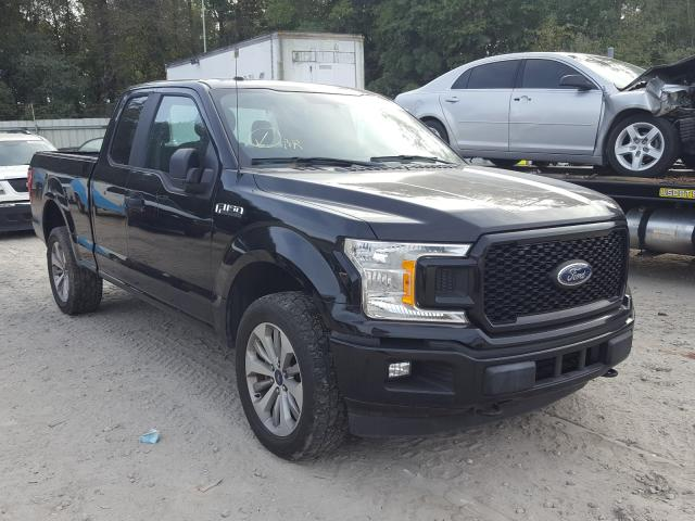 Salvage cars for sale from Copart Midway, FL: 2018 Ford F150 Super