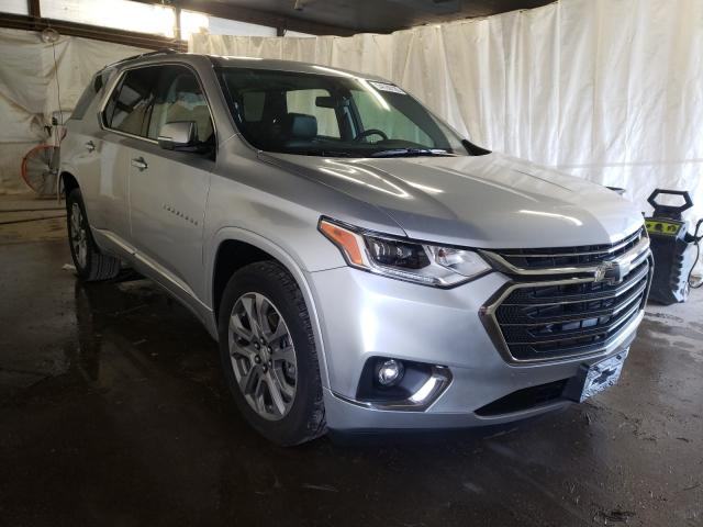 Salvage cars for sale from Copart Ebensburg, PA: 2019 Chevrolet Traverse P