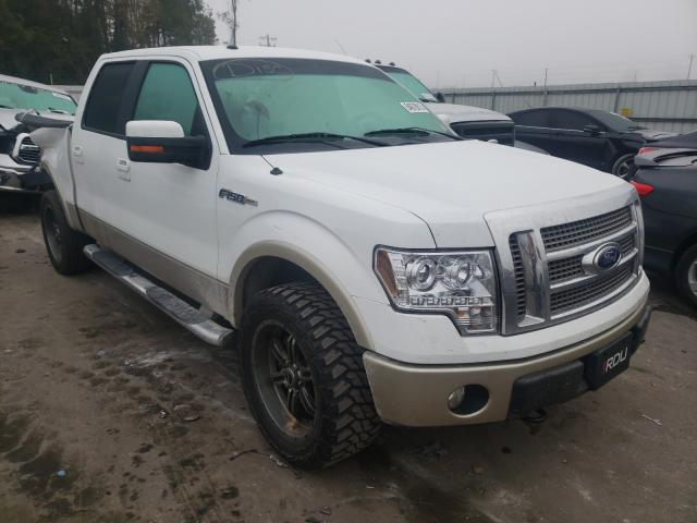Salvage cars for sale from Copart Dunn, NC: 2010 Ford F150 Super