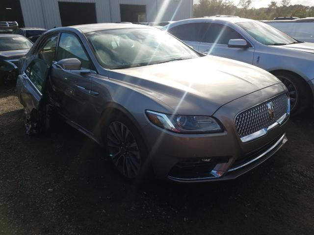 Salvage cars for sale from Copart Jacksonville, FL: 2019 Lincoln Continental