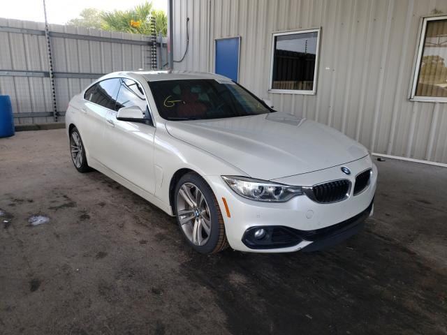 BMW 435 I Gran salvage cars for sale: 2016 BMW 435 I Gran