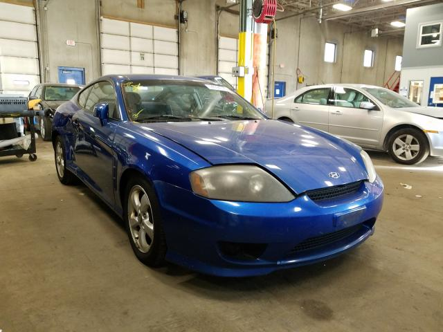 Hyundai Tiburon salvage cars for sale: 2005 Hyundai Tiburon