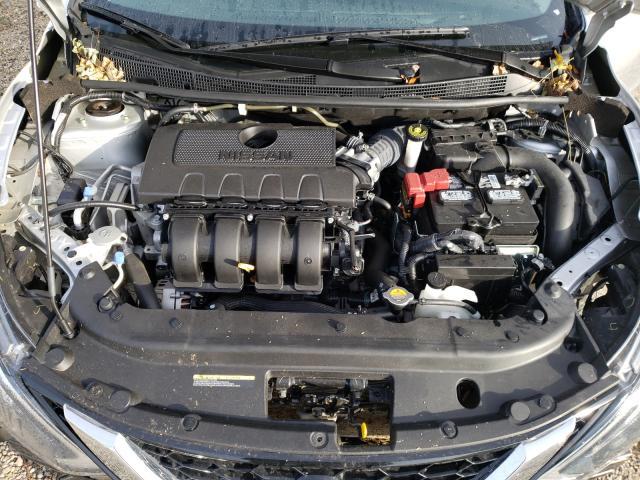 3N1AB7AP7KY384289 2019 Nissan Sentra 1.8L