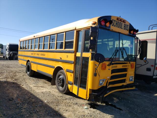 Salvage cars for sale from Copart Chatham, VA: 2009 Thomas School Bus