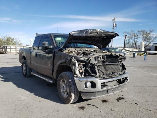 Salvage cars for sale from Copart Anthony, TX: 2016 Ford F250 Super
