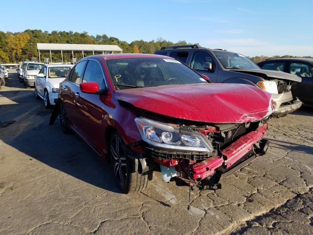 Vehiculos salvage en venta de Copart Cartersville, GA: 2017 Honda Accord Sport