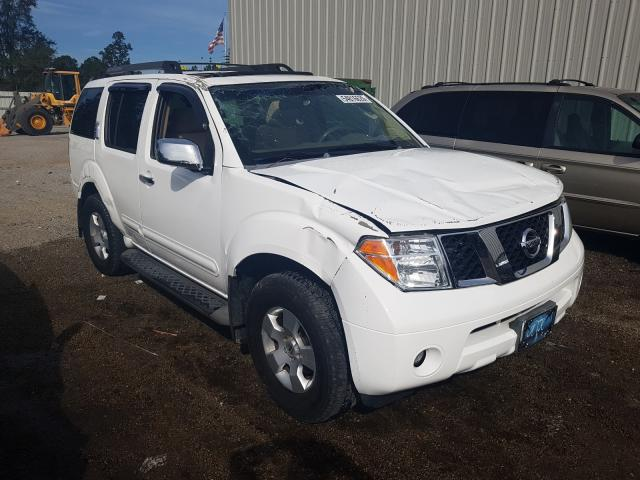 Nissan salvage cars for sale: 2007 Nissan Pathfinder