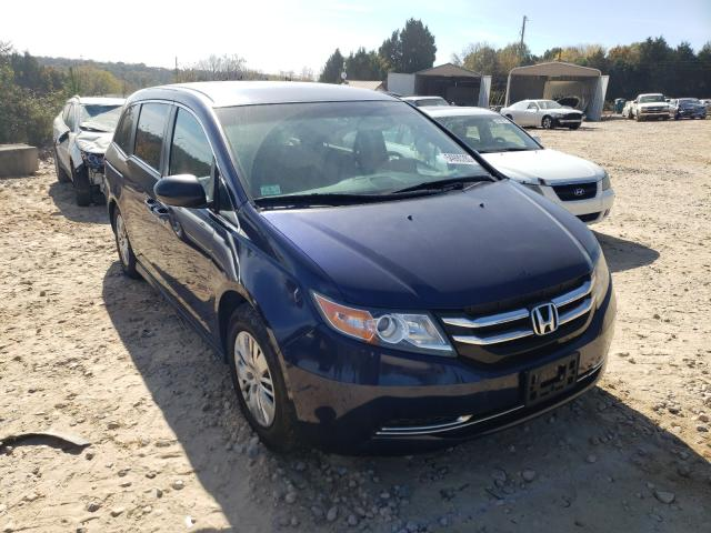 Salvage cars for sale from Copart China Grove, NC: 2014 Honda Odyssey LX