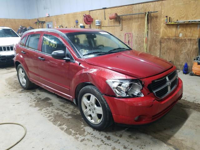 Dodge salvage cars for sale: 2008 Dodge Caliber SX