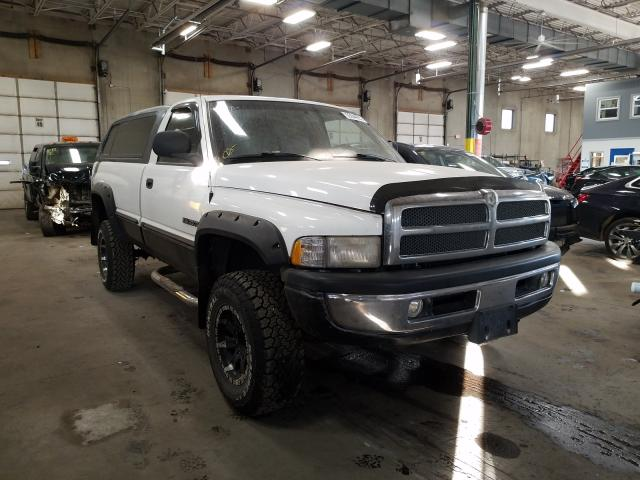 Dodge RAM salvage cars for sale: 2000 Dodge RAM