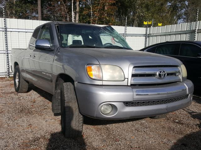 Salvage cars for sale from Copart Harleyville, SC: 2003 Toyota Tundra ACC