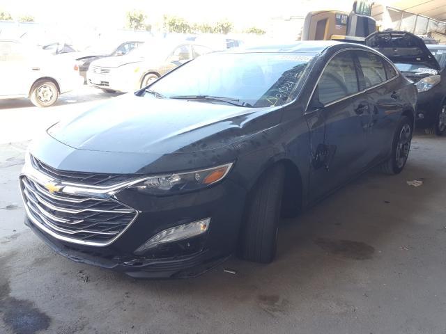 из сша 2020 Chevrolet Malibu Lt 1.5L 1G1ZD5ST0LF110749