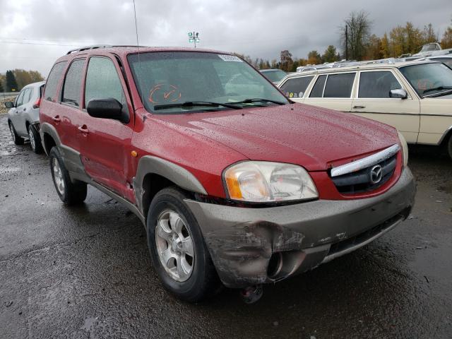 Mazda salvage cars for sale: 2001 Mazda Tribute LX