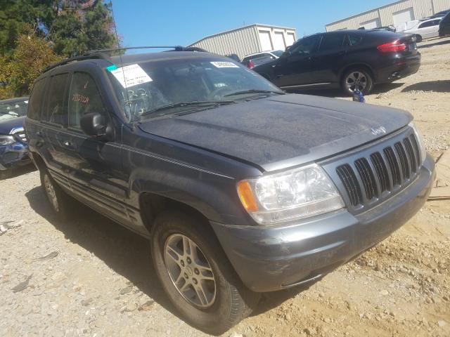 Salvage cars for sale from Copart Gainesville, GA: 2000 Jeep Grand Cherokee