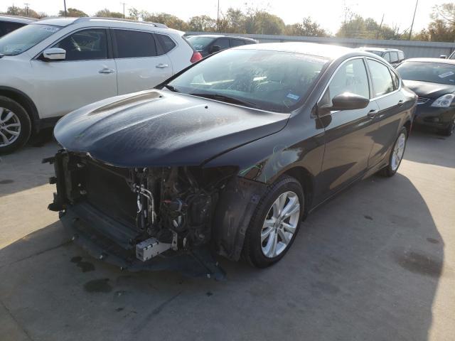 из сша 2015 Chrysler 200 Limite 2.4L 1C3CCCAB1FN743269