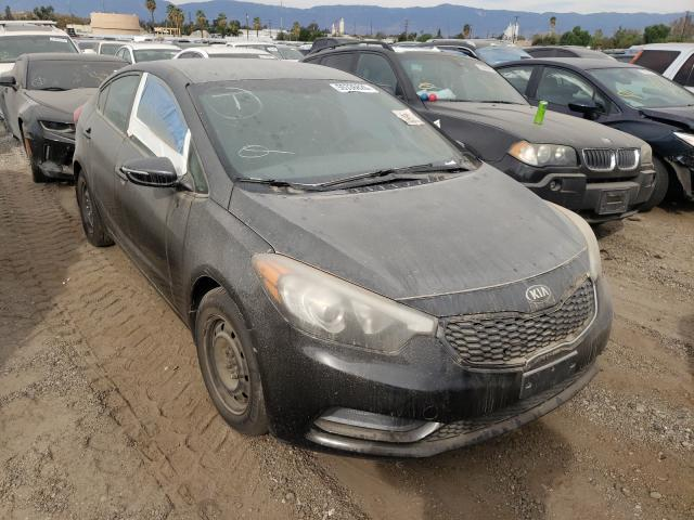 Salvage cars for sale from Copart Colton, CA: 2015 KIA Forte LX