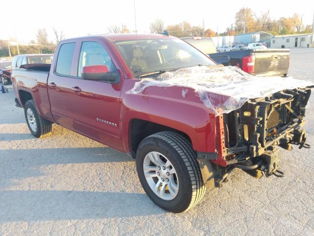 Salvage cars for sale at Bridgeton, MO auction: 2018 Chevrolet Silverado