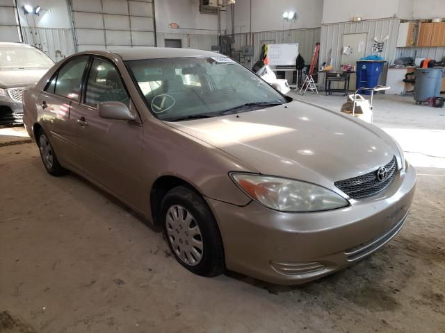 Salvage cars for sale from Copart Columbia, MO: 2002 Toyota Camry LE