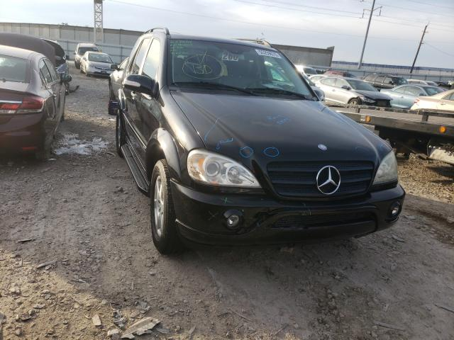 Mercedes-Benz ML 350 salvage cars for sale: 2004 Mercedes-Benz ML 350