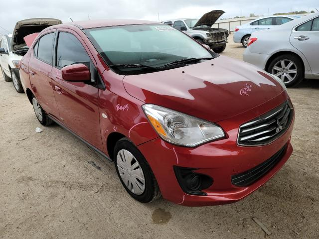 Salvage cars for sale from Copart Temple, TX: 2019 Mitsubishi Mirage G4