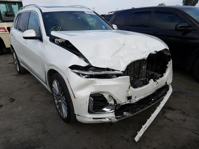 BMW salvage cars for sale: 2020 BMW X7 XDRIVE4