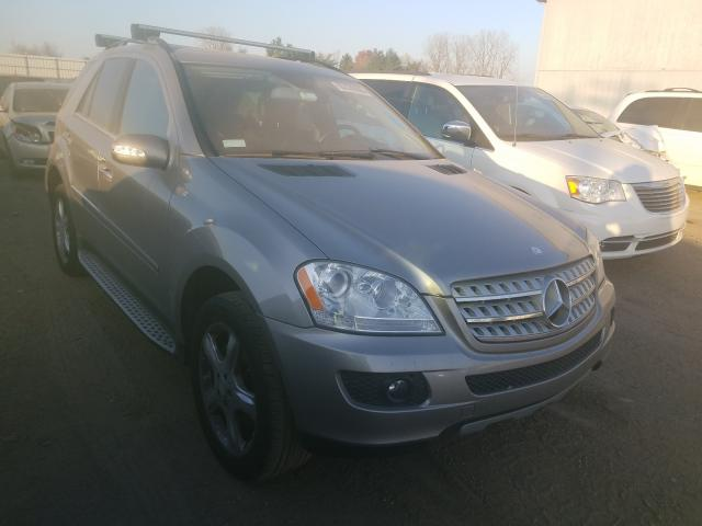 Mercedes-Benz ML 350 salvage cars for sale: 2008 Mercedes-Benz ML 350