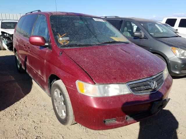 Salvage cars for sale from Copart Anderson, CA: 2003 Honda Odyssey EX