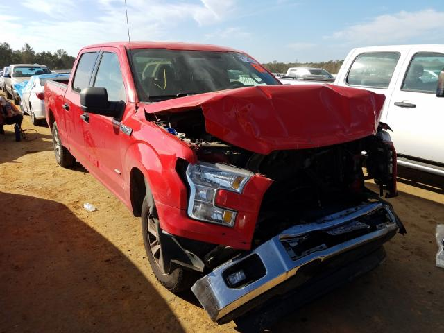 Salvage cars for sale from Copart Theodore, AL: 2015 Ford F150 Super