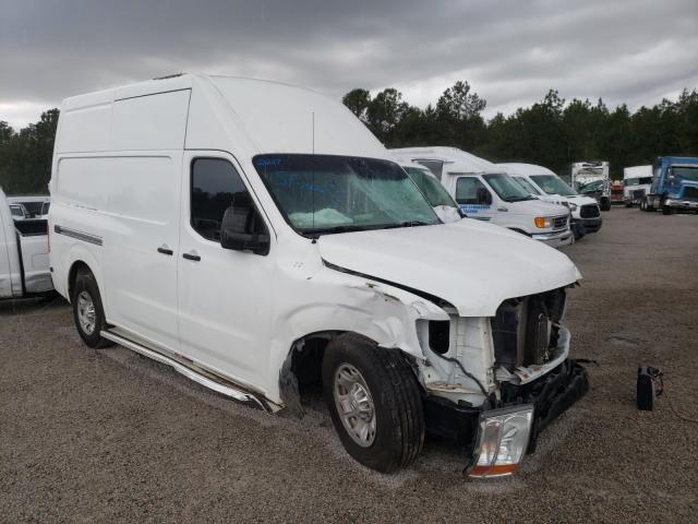 Nissan NV 2500 salvage cars for sale: 2012 Nissan NV 2500
