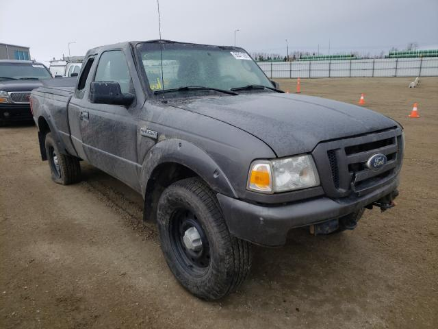 Salvage cars for sale from Copart Nisku, AB: 2011 Ford Ranger SUP