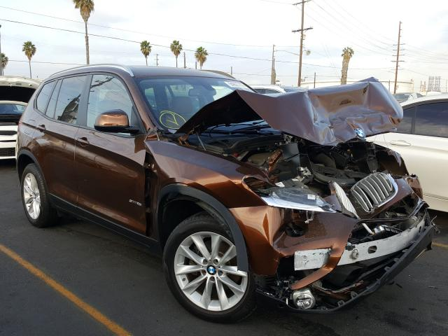Salvage cars for sale from Copart Wilmington, CA: 2017 BMW X3 SDRIVE2