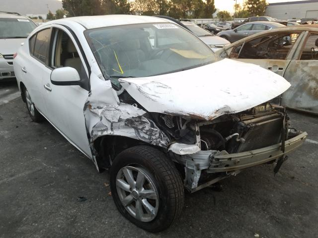 Nissan salvage cars for sale: 2013 Nissan Versa S