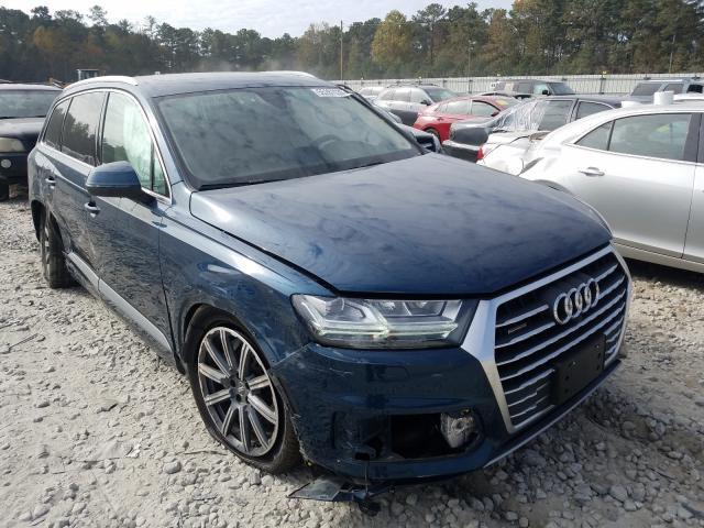 Salvage cars for sale from Copart Ellenwood, GA: 2019 Audi Q7 Premium