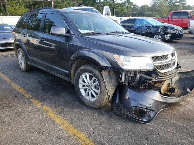 Salvage cars for sale from Copart Eight Mile, AL: 2015 Dodge Journey SX