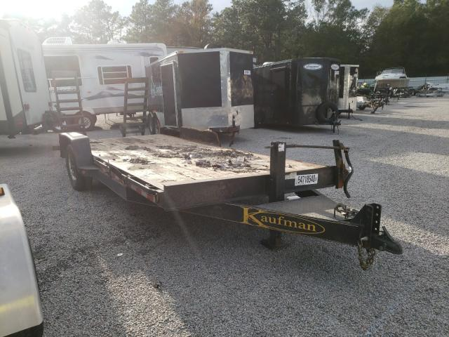 Salvage cars for sale from Copart Harleyville, SC: 2016 Kaufman Car Hauler