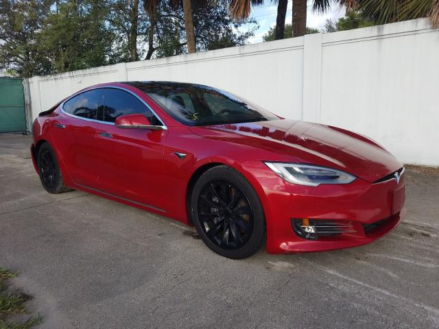 Salvage cars for sale at West Palm Beach, FL auction: 2020 Tesla Model S
