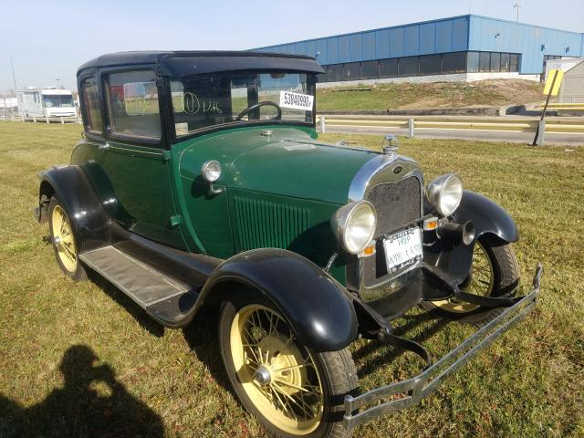 Salvage cars for sale from Copart Woodhaven, MI: 1929 Ford Model A
