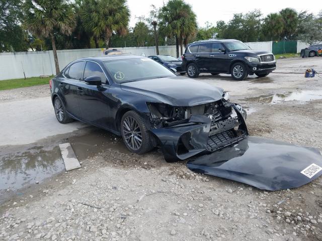 Salvage cars for sale at West Palm Beach, FL auction: 2017 Lexus IS 200T