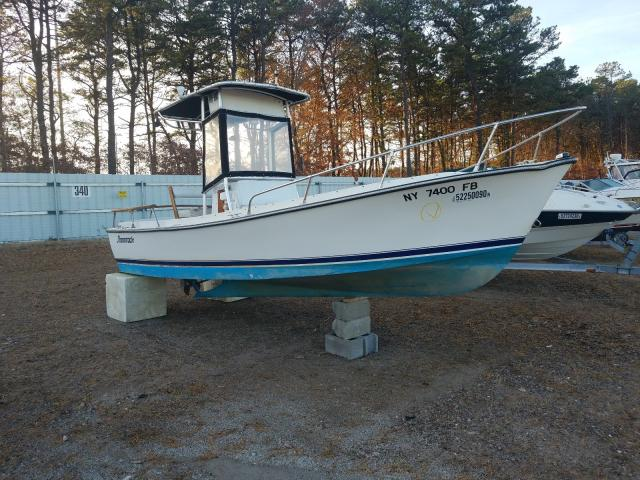 Salvage cars for sale from Copart Brookhaven, NY: 1983 Other Boat