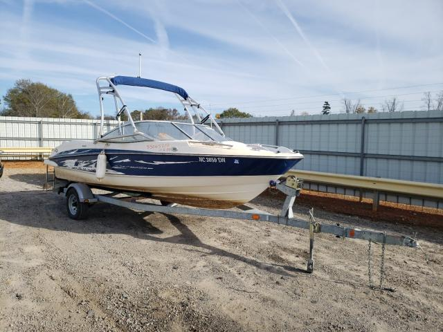 Bayliner salvage cars for sale: 2008 Bayliner 20FT Boat